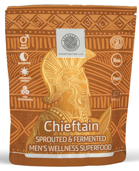 CHIEFTAIN Men`s Wellness Superfood mix bio 200g 0