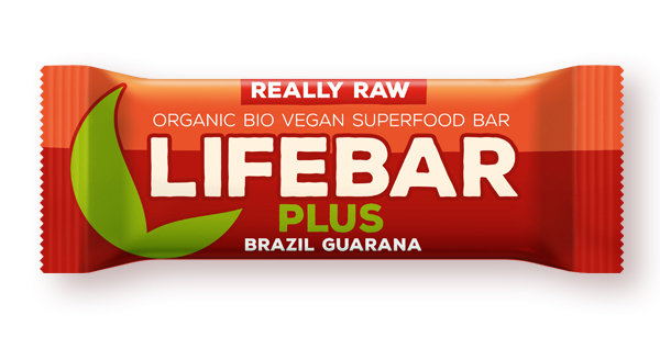 Lifebar Plus baton cu nuci braziliene si guarana raw bio 47g 0