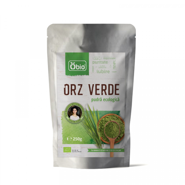 Orz verde pulbere bio 250g 0