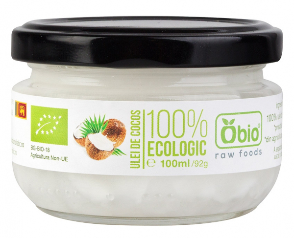 Ulei de cocos virgin raw bio 100ml 0