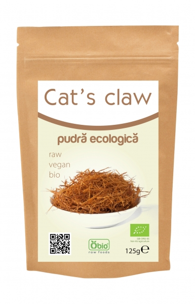 Cat s claw pulbere raw eco 125g 0