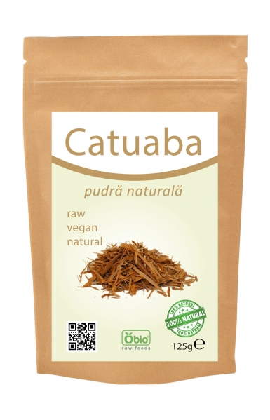 Catuaba pulbere raw 125g 0