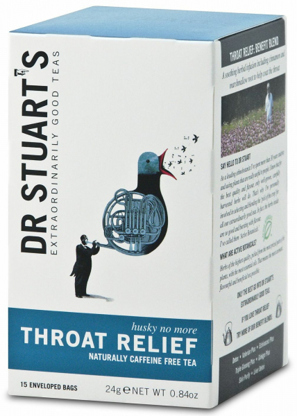 Ceai THROAT RELIEF dr. Stuarts 15 plicuri 0