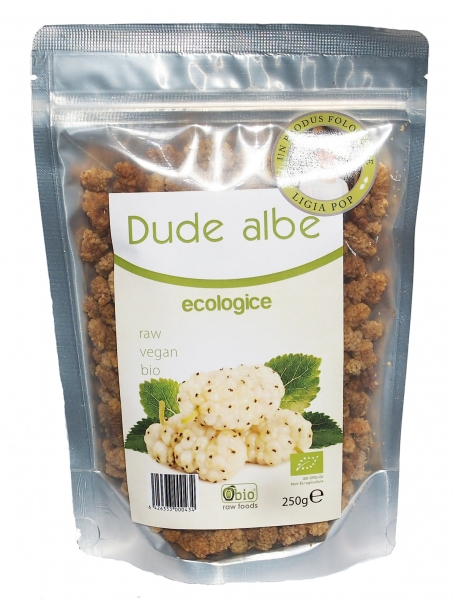 Dude albe deshidratate raw eco 250g 0