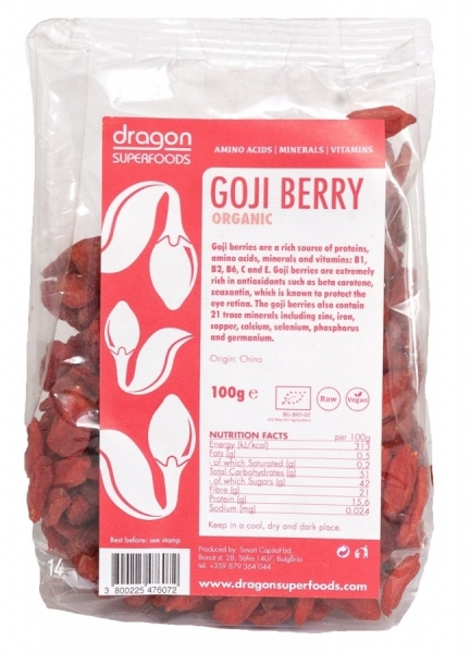 Goji berries raw eco 100g 0