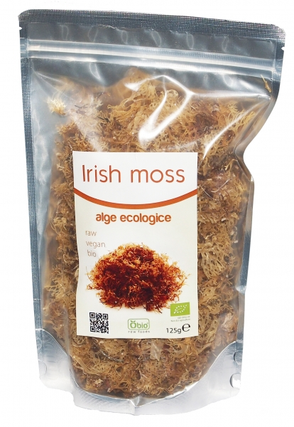 Irish moss raw eco 125g 0