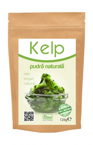 Kelp pulbere raw 250g 0