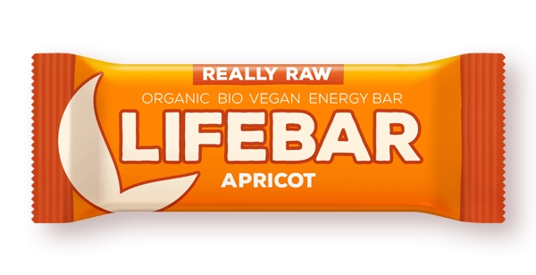 Lifebar baton cu caise raw eco 47g 0