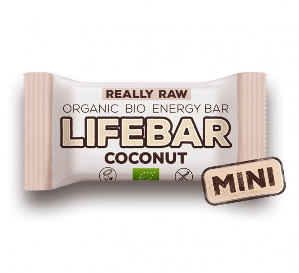 LIFEBAR baton cu cocos raw eco 25g 0