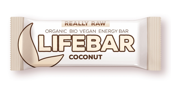 Lifebar baton cu cocos raw eco 47g 0