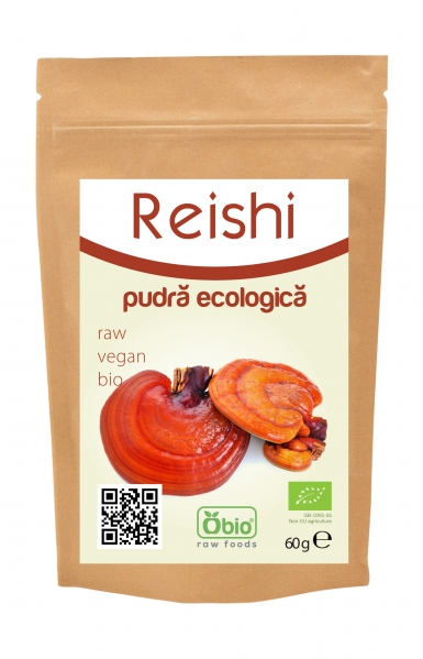 Reishi pulbere eco 60g 0