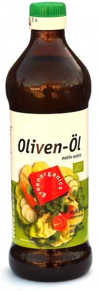 Ulei de masline extravirgin eco 500ml (GreenOrganics) 0