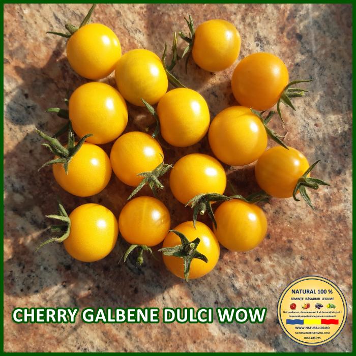 Rasad rosii CHERRY GALBENE DULCI WOW R021 mai.2021 [0]