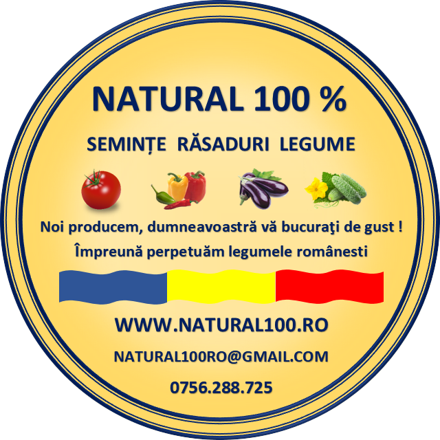 Seminte si rasaduri obtinute din legume traditionale crescute natural