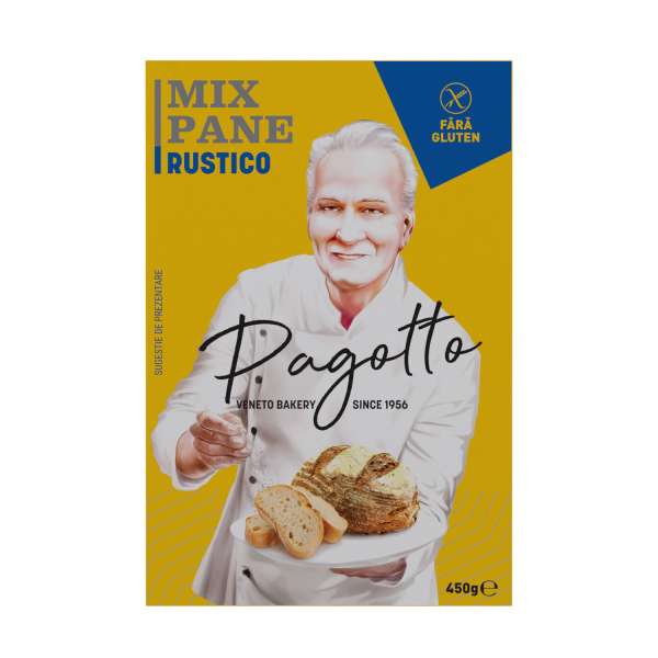 Mix paine rustico fara gluten 450G [0]