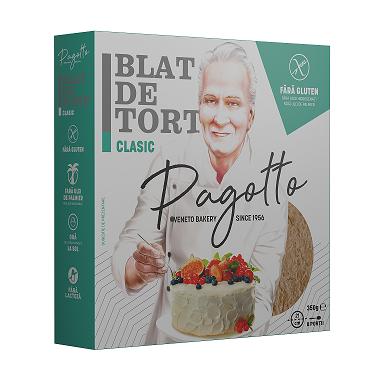 PAGOTTO - BLAT DE TORT CLASIC FARA GLUTEN 350G 1