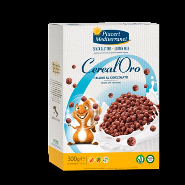Palline al Cioccolato - Bilute cu Ciocolata CerealOro 300g 0