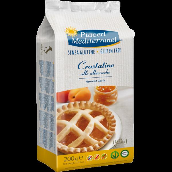 Crostatine cu Caise (Albicocche) 200g (4x50g) 0