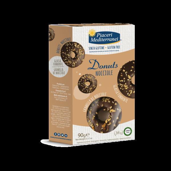 Donuts Nocciole - Cu Alune 90g [0]