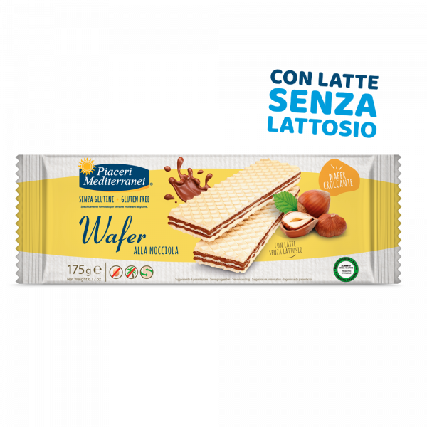 wafer alla Nocciola - Napolitane cu Crema de Alune 175g 0