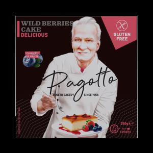 PAGOTTO - PRAJITURA FRUCTE PADURE FARA GLUTEN 350G0