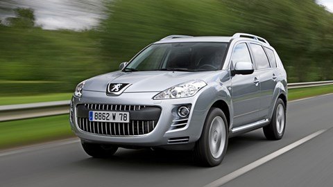 Navigatie Peugeot 4007