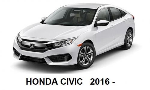 Navigatie Honda Civic 2016 +