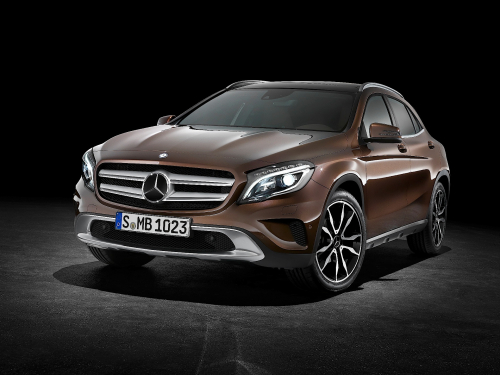 Navigatie Mercedes GLA X156