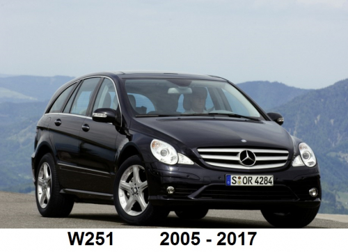 Navigatie Mercedes Clasa R W251
