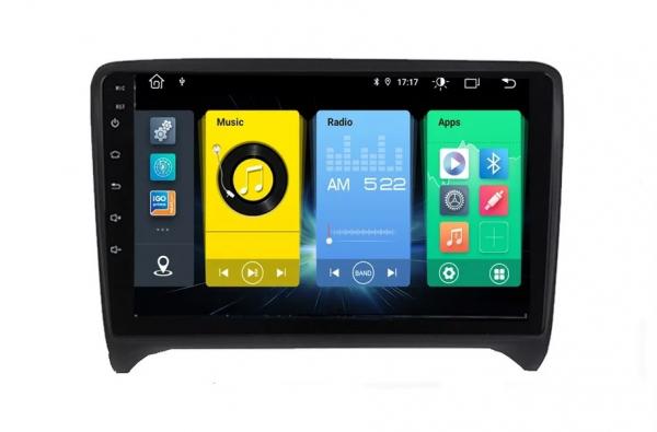 Navigatie Audi TT ( 2006 - 2012 ) , Android , Display 9 inch , 2GB RAM +32 GB ROM , Internet , 4G , Aplicatii , Waze , Wi Fi , Usb , Bluetooth , Mirrorlink 2