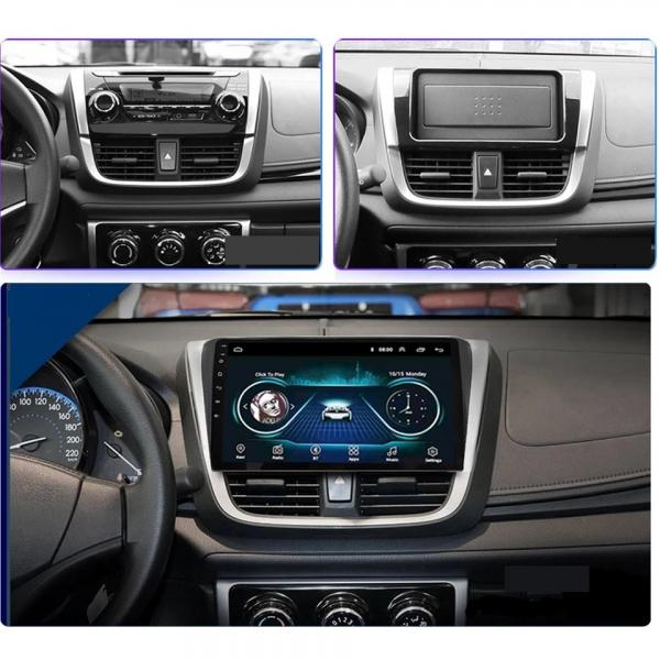 Navigatie Toyota Yaris ( 2014 + ) , Android , Display 10 inch , 2GB RAM + 32 GB ROM , Internet , 4G , Aplicatii , Waze , Wi Fi , Usb , Bluetooth , Mirrorlink [5]