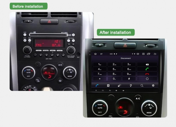Navigatie Suzuki Grand Vitara ( 2005-2015 ) , Android , Display 9 inch , 2GB RAM +32 GB ROM , Internet , 4G , Aplicatii , Waze , Wi Fi , Usb , Bluetooth , Mirrorlink 4