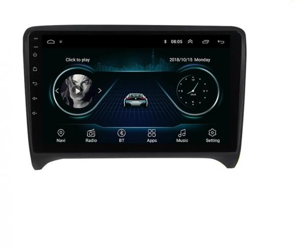 Navigatie Audi TT ( 2006 - 2012 ) , Android , Display 9 inch , 2GB RAM +32 GB ROM , Internet , 4G , Aplicatii , Waze , Wi Fi , Usb , Bluetooth , Mirrorlink 0