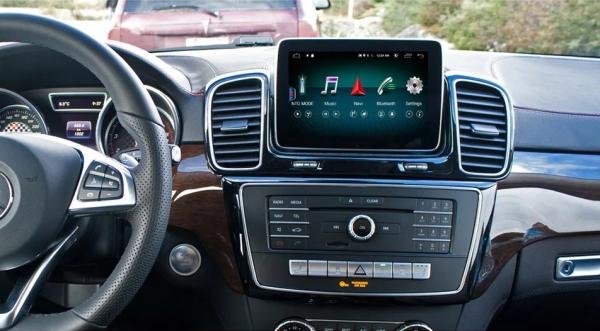 Navigatie Mercedes ML GL W166 ( 2013 - 2015) , Android , NTG 4.5 , 4GB RAM + 64 GB ROM , Slot Sim 4G LTE , Procesor Octa Core , Internet , Aplicatii , Waze , Wi Fi , Usb , Bluetooth , Mirrorlink [1]
