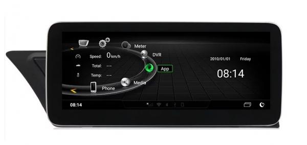 """Navigatie Audi A4 A5 B8 ( 2009 - 2016) ,  Audi MMI 3G , Android , 4GB RAM +64 GB ROM , Slot Sim 4G LTE , Display 10.25 """" rez 1920*720 , Procesor Octa Core , Internet 6"""