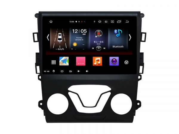 Navigatie Gps Ford Mondeo ( 2013 +  ) , Android , 2 GB RAM +16 GB ROM , Internet , 4G , Aplicatii , Waze , Wi Fi , Usb , Bluetooth , Mirrorlink 5