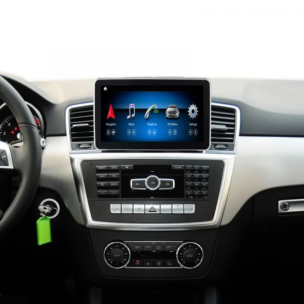 Navigatie Mercedes ML GL W166 ( 2012 - 2015) , Android , NTG 4.0 , 4GB RAM + 64 GB ROM , Slot Sim 4G LTE , Procesor Octa Core , Internet , Aplicatii , Waze , Wi Fi , Usb , Bluetooth , Mirrorlink 6