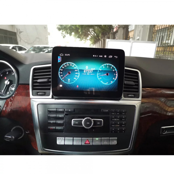 Navigatie Mercedes ML GL W166 ( 2013 - 2015) , Android , NTG 4.5 , 4GB RAM + 64 GB ROM , Slot Sim 4G LTE , Procesor Octa Core , Internet , Aplicatii , Waze , Wi Fi , Usb , Bluetooth , Mirrorlink 8
