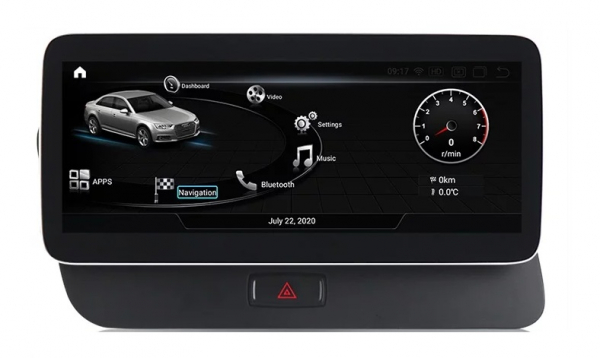 "Navigatie Audi Q5 ( 2009 - 2016) ,  Audi Concert / Symphony , Android , 4GB RAM +64 GB ROM , Slot Sim 4G LTE , Display 10.25 "" rez 1920*720 , Procesor Octa Core , Internet 5"