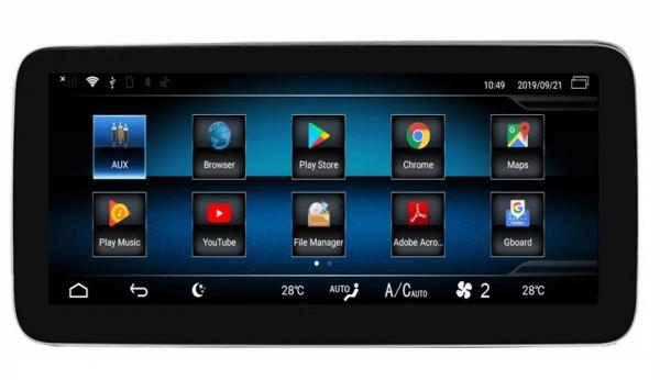 "Navigatie Mercedes E Class W212 ( 2012 - 2014) ,  Android , NTG 4.5 , 4GB RAM + 64 GB ROM , Slot Sim 4G LTE , Display 10.25 "" rez 1920*720 , Procesor Octa Core , Internet , Aplicatii , Waze , Wi Fi , 3"