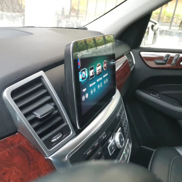 Navigatie Mercedes ML GL W166 ( 2013 - 2015) , Android , NTG 4.5 , 4GB RAM + 64 GB ROM , Slot Sim 4G LTE , Procesor Octa Core , Internet , Aplicatii , Waze , Wi Fi , Usb , Bluetooth , Mirrorlink 9