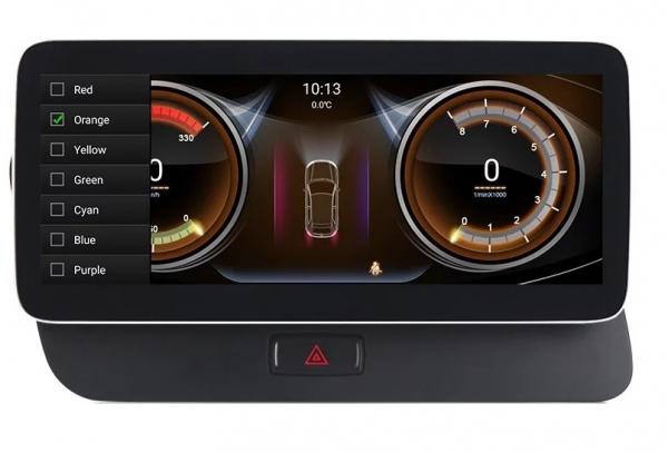 """Navigatie Audi Q5 ( 2009 - 2016) ,  Audi MMI 3G , Android , 4GB RAM +64 GB ROM , Slot Sim 4G LTE , Display 10.25 """" rez 1920*720 , Procesor Octa Core , Internet 4"""