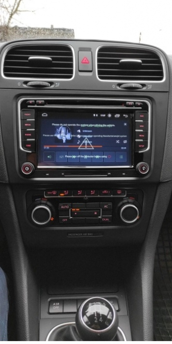 Navigatie VW Golf 5 6 Passat B6 B7 CC Eos Tiguan Touran Jetta Polo Sharan Amarok Caddy , 4 GB RAM + 64 GB ROM , Slot Sim 4G pentru Internet , Carplay , Android Usb , Wi Fi , Bluetooth [1]