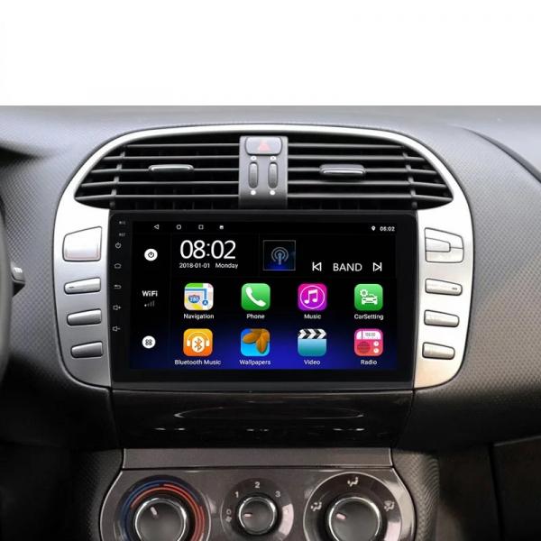 Navigatie Fiat Bravo ( 2007 - 2012 ) , Android , Display 9 inch , 2GB RAM +32 GB ROM , Internet , 4G , Aplicatii , Waze , Wi Fi , Usb , Bluetooth , Mirrorlink 4