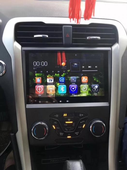 Navigatie Ford Mondeo ( 2013 + ) , 4 GB RAM + 64 GB ROM , Slot Sim 4G pentru Internet , Carplay , Android , Aplicatii , Usb , Wi Fi , Bluetooth [1]
