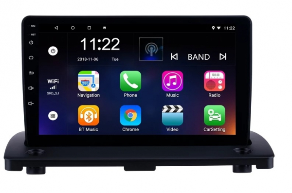 Navigatie Volvo XC90 ( 2003 - 2014 ) , Android , Display 9 inch , 2GB RAM +32 GB ROM , Internet , 4G , Aplicatii , Waze , Wi Fi , Usb , Bluetooth , Mirrorlink 4