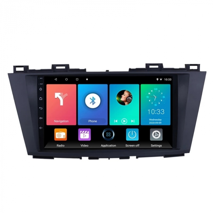 Navigatie Mazda 5 ( 2010 - 2017 ) , Android , Display 9 inch , 2GB RAM +32 GB ROM , Internet , 4G , Aplicatii , Waze , Wi Fi , Usb , Bluetooth , Mirrorlink 0