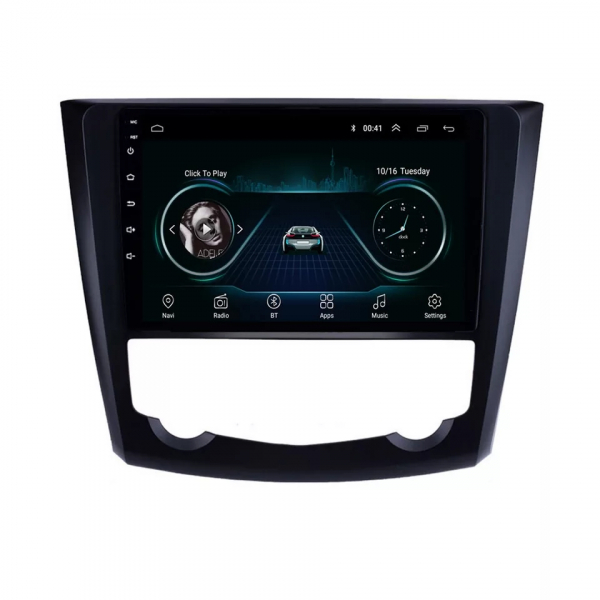 Navigatie Renault Kadjar ( 2016 + ) , Android , Display 9 inch , 2GB RAM +32 GB ROM , Internet , 4G , Aplicatii , Waze , Wi Fi , Usb , Bluetooth , Mirrorlink 0