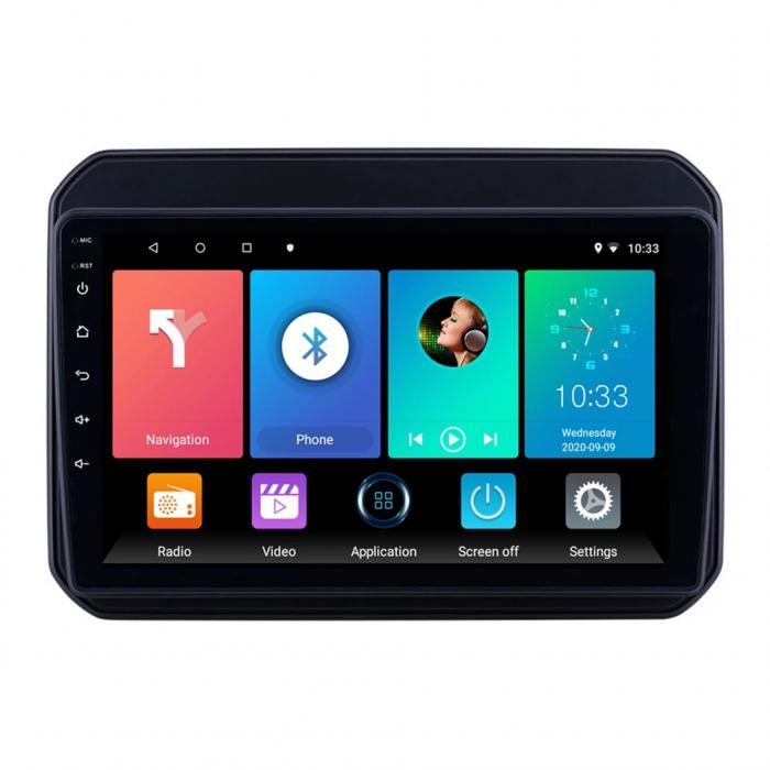 Navigatie Suzuki Ignis ( 2016 - 2020 ) , Android , Display 9 inch , 2GB RAM +32 GB ROM , Internet , 4G , Aplicatii , Waze , Wi Fi , Usb , Bluetooth , Mirrorlink [0]