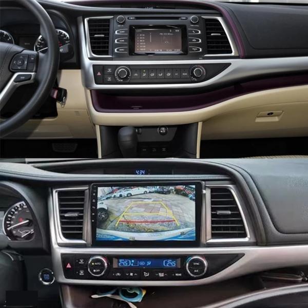 Navigatie Toyota Highlander ( 2014 - 2018 ) , Android , Display 9 inch , 2GB RAM +32 GB ROM , Internet , 4G , Aplicatii , Waze , Wi Fi , Usb , Bluetooth , Mirrorlink 1